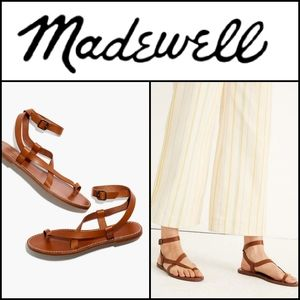 🆕️ MADEWELL Bare Boardwalk Leather Sandals!